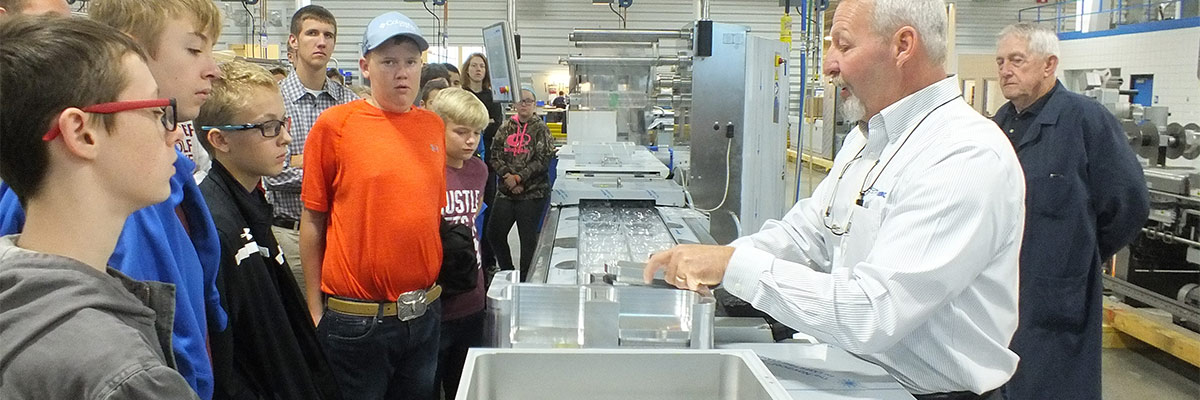 Multivac Tour for Manufacturing Day